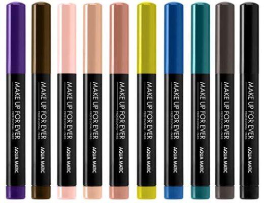 Make Up Forever, Aqua Matic, Liners, Waterproof